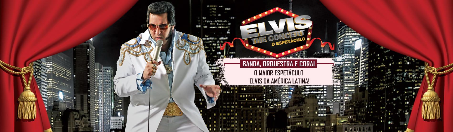 Elvis The Concert! Tributo ao Rei chega a São Paulo em 30 de Setembro